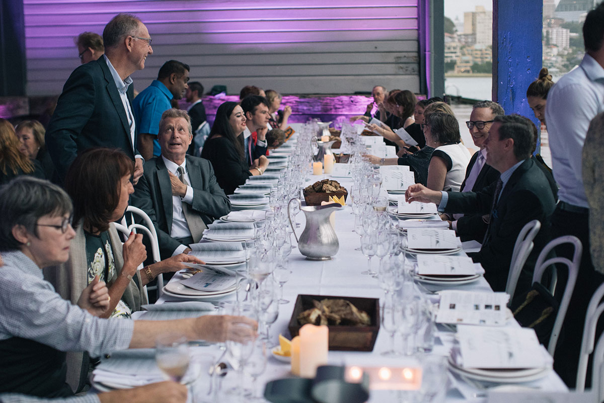 Walsh Bay Arts Table Dinner 2016