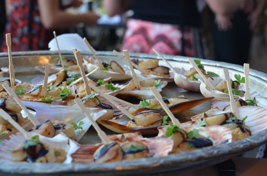 WBAC Famil – Canapés at Simmer on the Bay